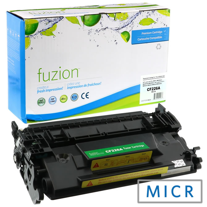 HP CF226A MICR Toner Cartridge - Black