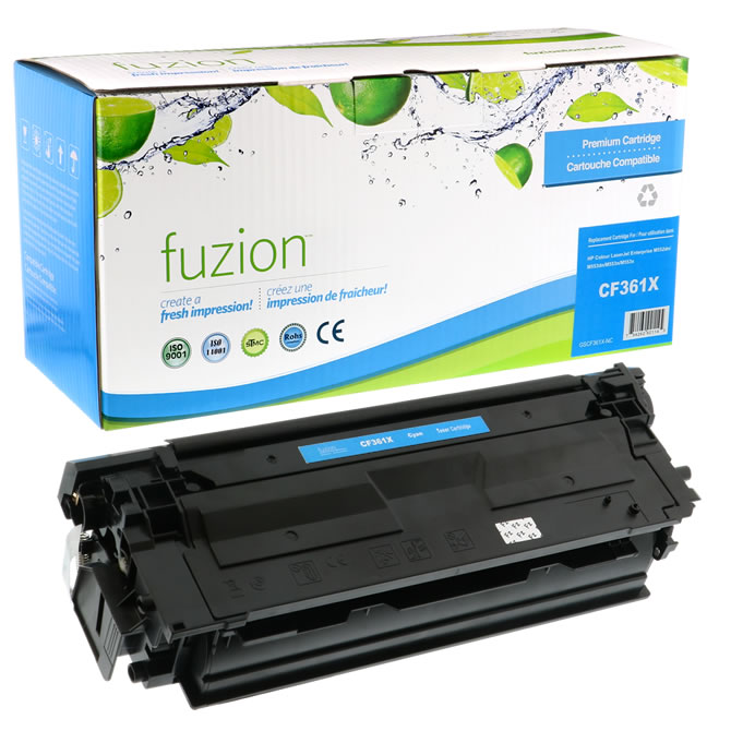 HP Colour CF361X HY Reman Toner - Cyan